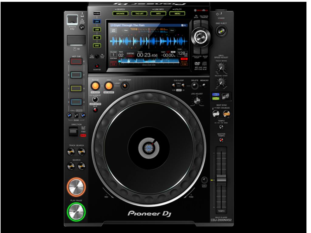 CD/USB Mediaspeler Pioneer CDJ NXS2
