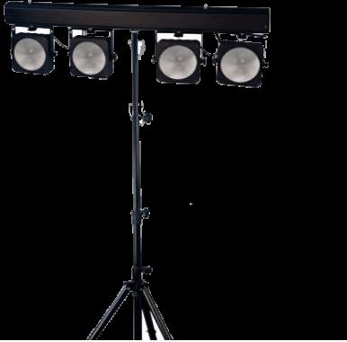 Disco verlichting COB 4-BAR