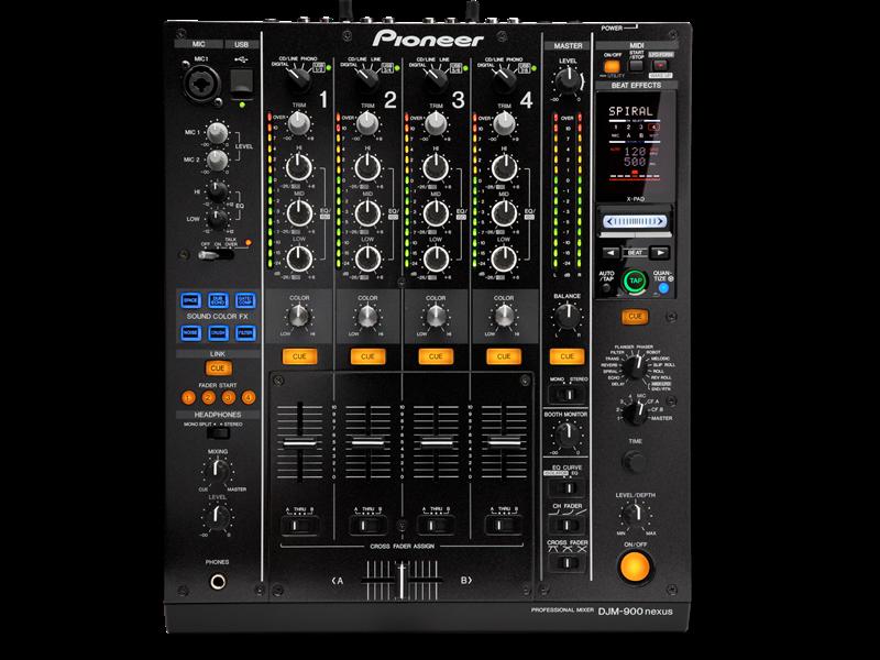 Mengpaneel Pioneer DJM 900NXS