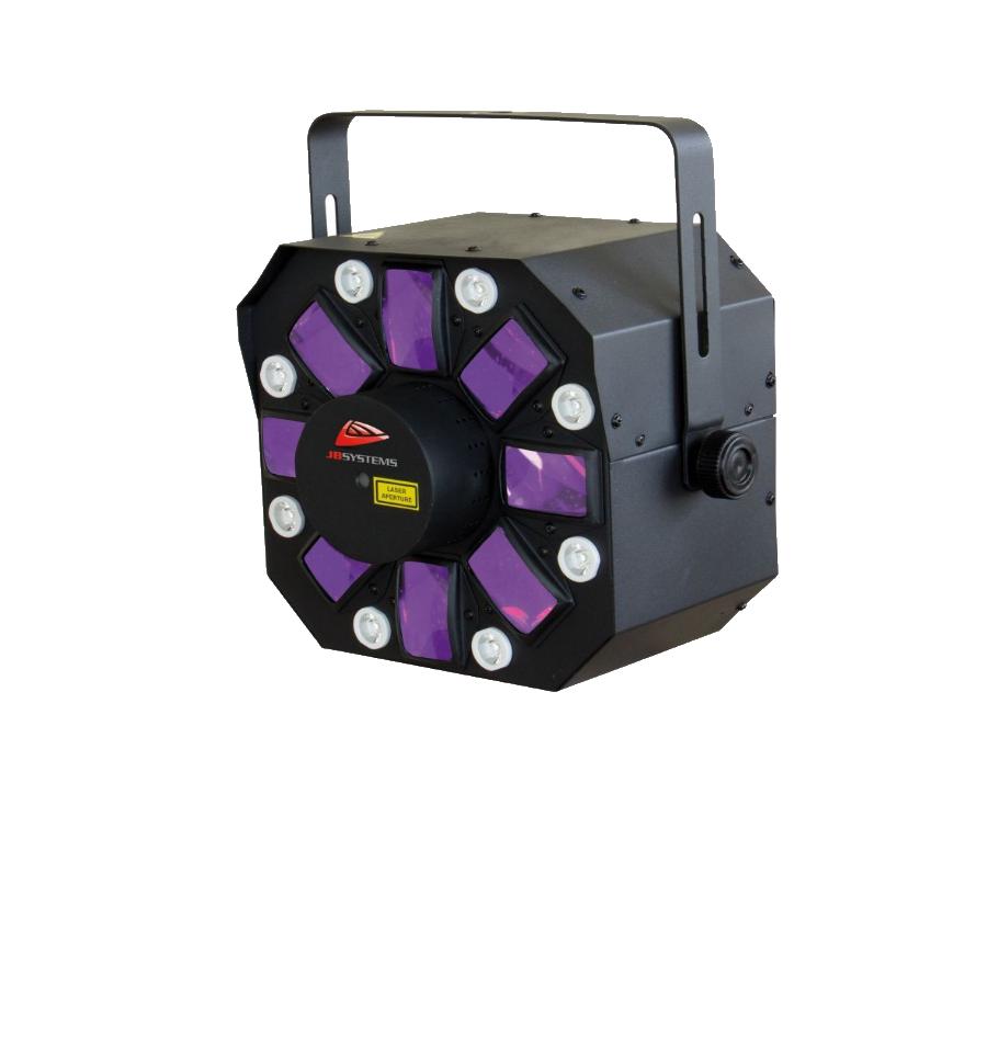 Lichteffect JB Systems Invader LED