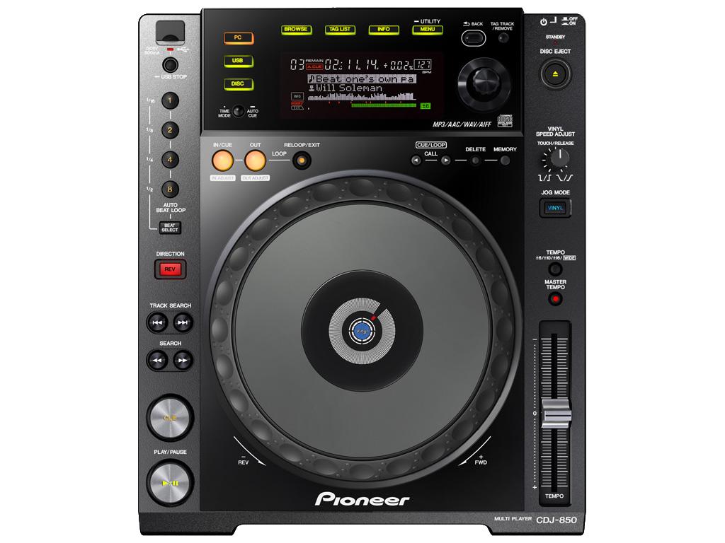 CD/USB Mediaspeler Pioneer CDJ 850